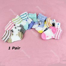 Cartoon Warm Baby Infant Toddler Non-slip Booties Anklet Boots Shoes Ankle Socks(China)