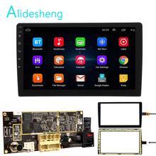 2din أندرويد 8.1 اللوحة 9/10 بوصة راديو السيارة لتحديد المواقع والملاحة واي فاي SWC شاشة لمس يو اس بي 1G + 16G ل Hoxiao CARLAOER العالمي