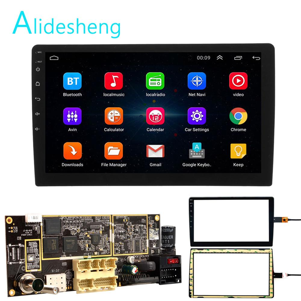 2din Android 8.1 Motherboard 9/10 inch Car Radio GPS Navigation wifi SWC USB touch screen 1G+16G For universal Hoxiao CARLAOER|Car Multimedia Player|   - AliExpress