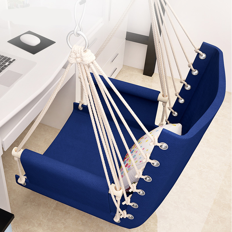 Lounge Chair For Adult Outdoor Hammock Of University Student's Dormitory For Lunch Break Reinforcement And Hanging Chai