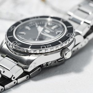 Image 3 - seiko watch men 5 automatic watch top brand luxury Sport men watch set waterproof mechanical military watch relogio masculinoSNZ
