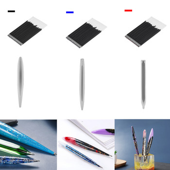 Ballpoint Pen Holder Silicone Molds Resin Decorative Craft DIY Pen Mold Epoxy Resin Mould for Handicraft Jewelry Making Supplies creative resin axe style ballpoint pen