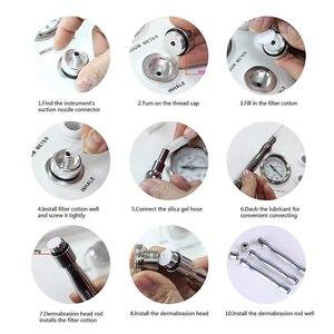 Image 3 - Комбайн алмазного пилинга NV 60, вакуумной чистки и вакуумного массажа лица многофункциональный