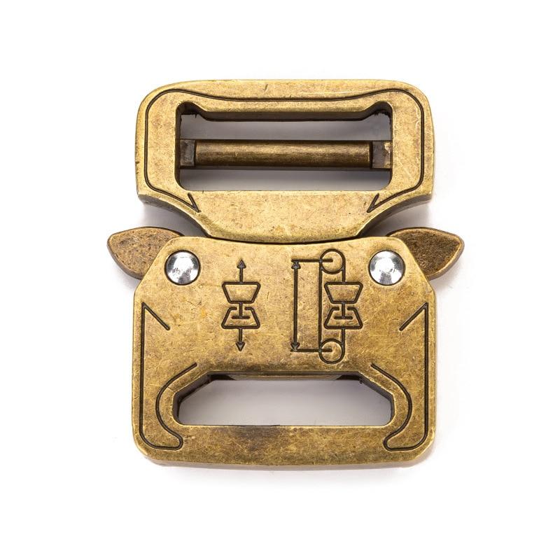 27mm Outdoor Quick Release Button Men's Tactical Button Outdoor Metal Belt Button