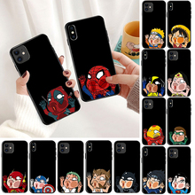 Marvel Avengers Case For iPhone 11 pro max XS Max XR X 7 6s 8 Plus 5S SE Super Iron Man Spiderman Deadpool phone Cases Cover marvel avengers case for iphone 11 pro max xs max xr x 7 6s 8 plus 5s se super iron man spiderman deadpool phone cases cover