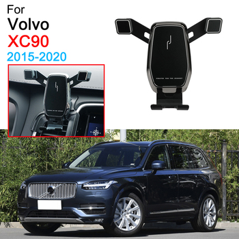 Car Phone Holder Air Vent Mount Clip Clamp Mobile Phone Holder for Volvo S60 Accessories 2019 2020 image