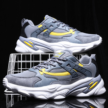 Spring Men Casual Shoes Fashion Mesh Light Breathable Sport