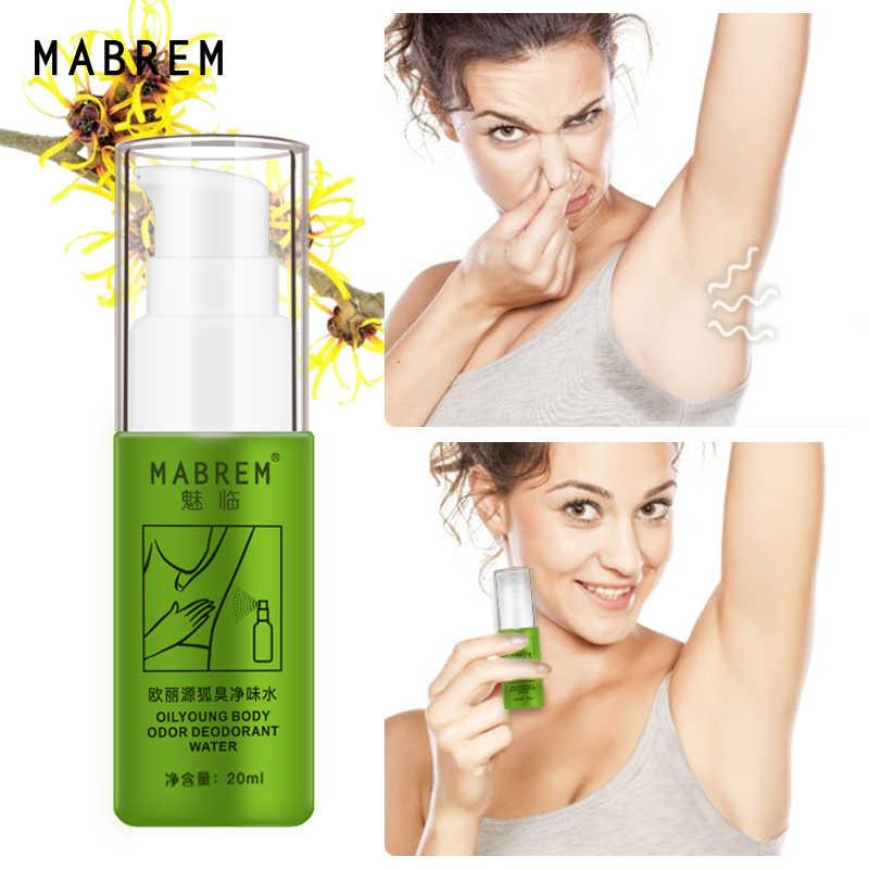 MABREM corps odeur sueur déodorante vaporisateur de parfum pour homme et femme élimine les odeurs des aisselles et la sueur arôme durable soin de la peau vaporisateur 20ml