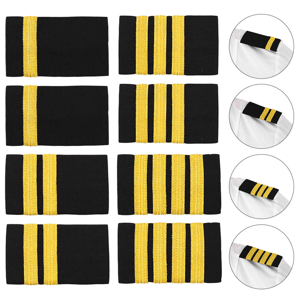 Pilot 3 Yellow Stripes Backpack