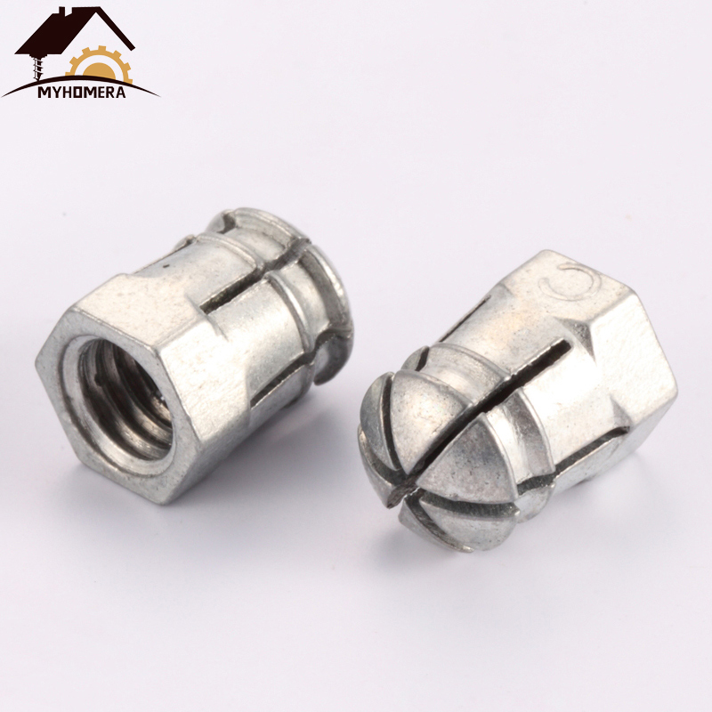 2 X TABLE TOP CONNECTORS SWIVEL BOLTS 48mm GALVANIZED STEEL
