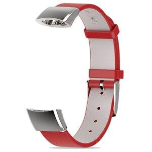 Image 5 - 화웨이 시계 명예 밴드 3 밴드 손목 스트랩 시계 밴드에 대한 정품 가죽 스트랩 명예 3 스마트 팔찌 팔찌 액세서리