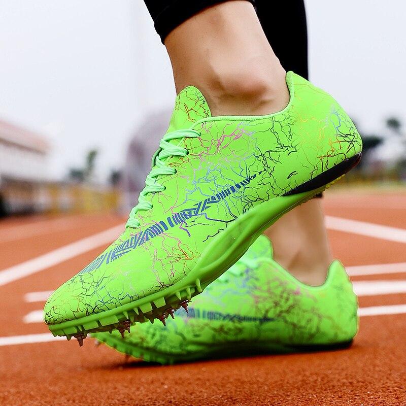 Обувь унисекс для трека и поля, размер 35-45, профессиональная обувь для соревнований, беговые кроссовки высокого качества, кроссовки для бега