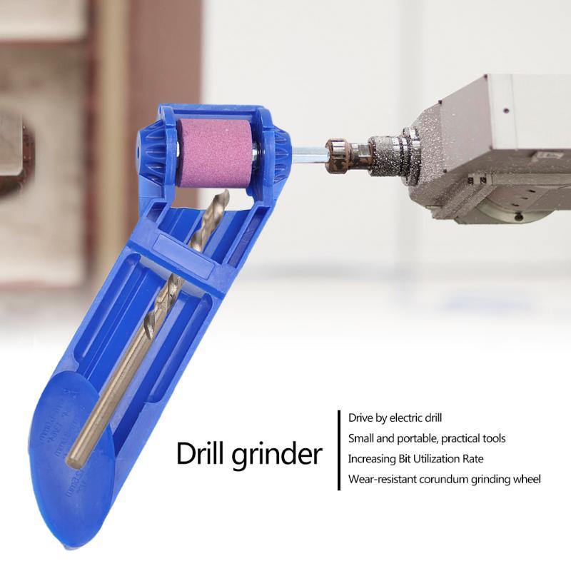 Bohrer Grinder Bit Kit Spitzer Schleifen Rad Tragbare Elektrische Messer Twist Bohrer Mini Winkel Schleifen Maschine Power Tool