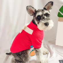 Dogs Cat Sweater Clothing  Dog Vest Winter Pet Clothes For Small medium-sized dog Costume schnauzer Supplies