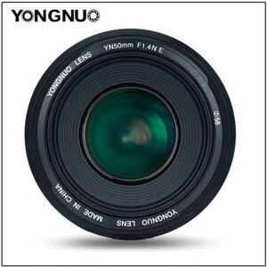 Image 4 - YONGNUO YN50mm Lens YN50mm F1.4 Standard Prime Lens Large Aperture Auto Focus Lens for Canon EOS 70D 5D2 5D3 600D for Nikon DSLR