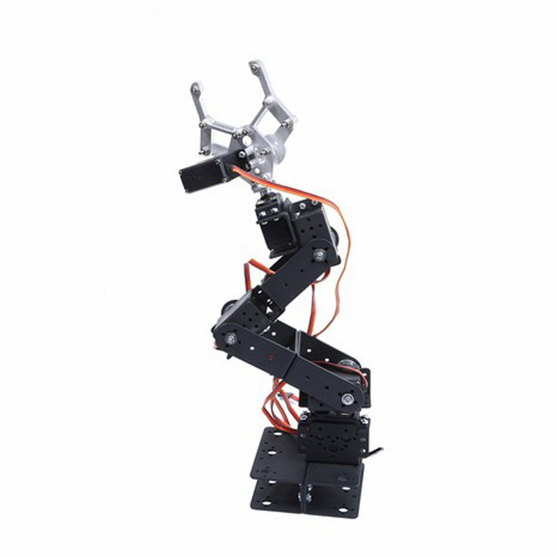 6-Axis Control Palletizing Robotic Arms Model With Servos for Smart Robot Car