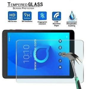 Para alcatel 1t 10-premium tablet 9h protetor de tela de vidro temperado filme protetor capa de guarda