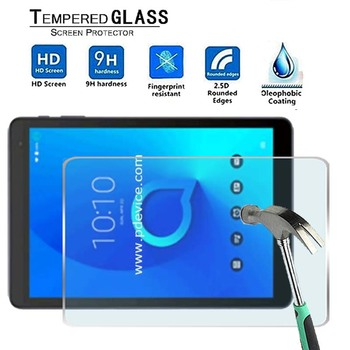 For Alcatel 1T 10 -Premium Tablet 9H Tempered Glass Screen Protector Film Protector Guard Cover for teclast p10 9h premium tablet tempered glass screen protector film protector guard cover