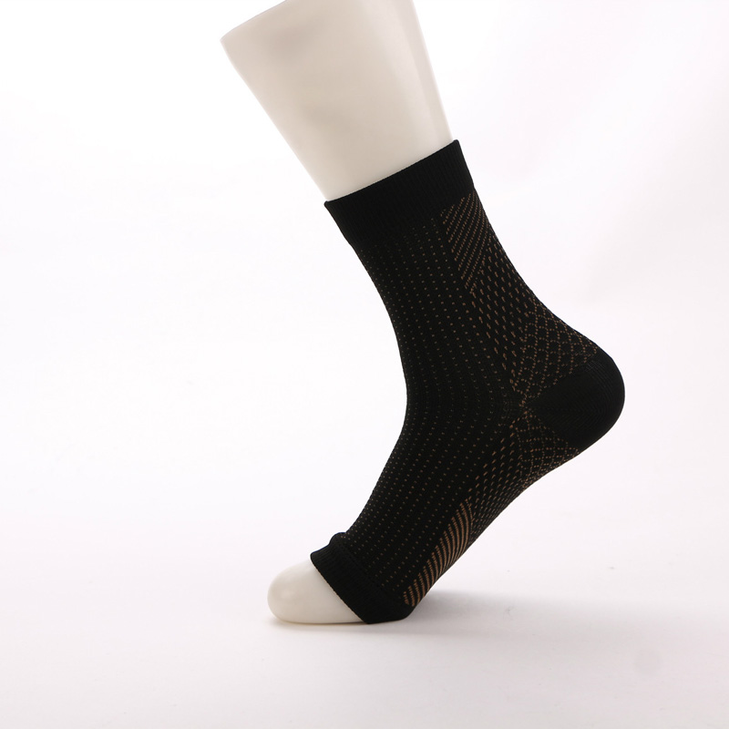 1 Pair Vita-Wear Copper Infused Magnetic Foot Support Compression Foot Sleeve