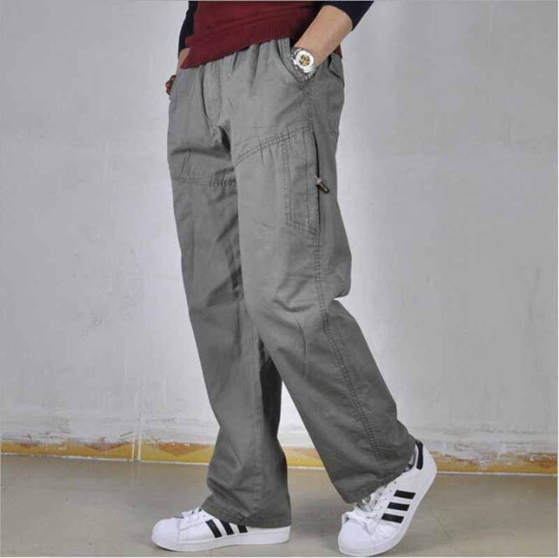 2019 New Spring And Summer Casual Pants Men's Sports Pants Cotton Loose Trousers Men's Pants Overalls Fashion Large Size XL-6XL