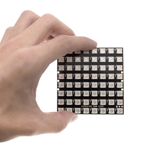 Image 2 - 10 stücke WS2812 LED 5050 RGB 8x8 64 LED מטריקס