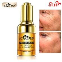 Fonce אנטי קמטים מסיר פנים סרום צמח אנטי הזדקנות הרמת מיצוק פנים 25 55 גיל Argireline שישה פפטידים מהות 30ml