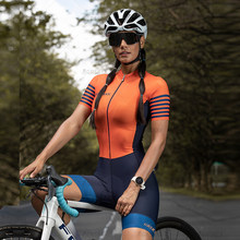 GRSRXX Triathlon Skinsuits Women's Cycling Set MTB Team Jumpsuit Kits Summer Female's Jumpsuit Cycling Jerseys Set Bicycle Suit