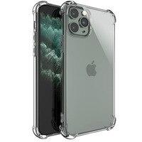 Funda transparente de silicona blanda a prueba de golpes para iPhone, carcasa trasera protectora para modelos 12, 11 Pro Max, X, XR, XS, 8, 7, 6 y 6SP