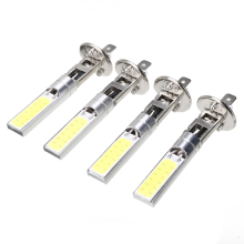 цены 4pcs/set H1 COB LED 60W Headlight Driving Light Lamp Bulb White 6000K Automobile Super Bright Car High Low Beam Lighting Lamp