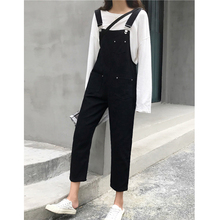 2019 New Denim Jeans for Women jumpsuit  Romper Overalls Jumpsuit Ripped Sleeveless