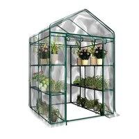 Garden Flower Plants Cover 3 Tier Anti-UV Waterproof Portable PVC Greenhouse P7Ding