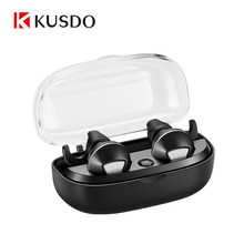 KUSDO Wireless Earphones Bluetooth Headphones Sports Earbuds Stereo Headset Handsfree Auriculares For All Phones Xiaomi Samsung(China)