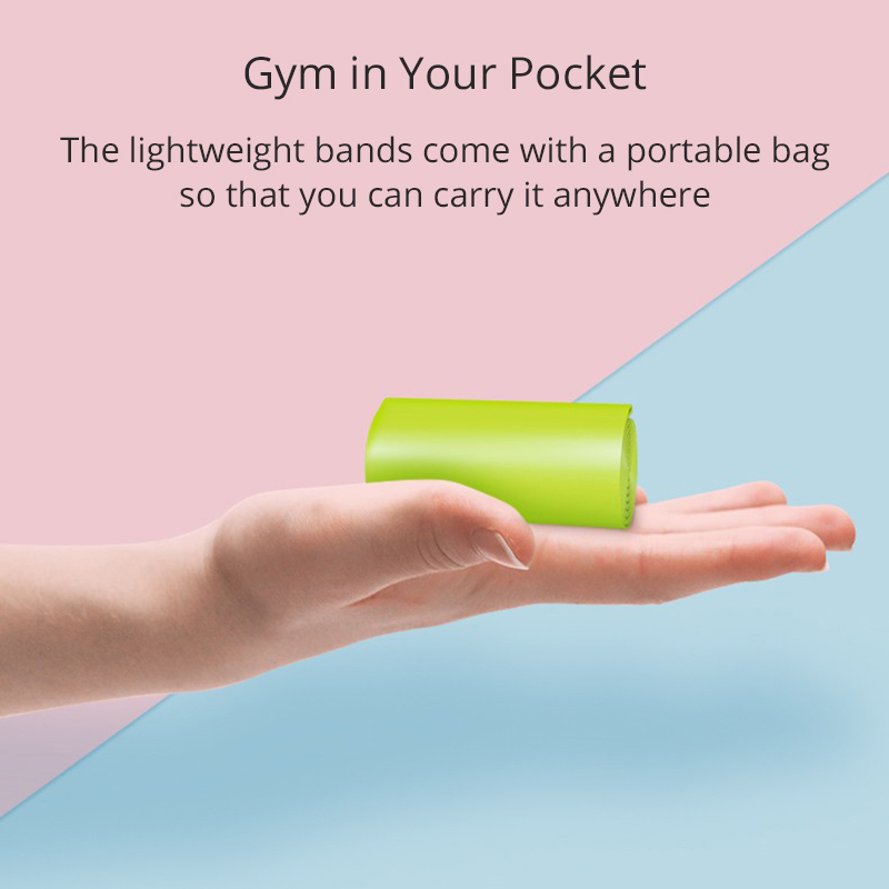 Эластичные ленты для йоги, 5 шт., набор для фитнеса, эластичная лента для тренировок, резиновая петля, Расширительная лента, спортивное оборудование-4