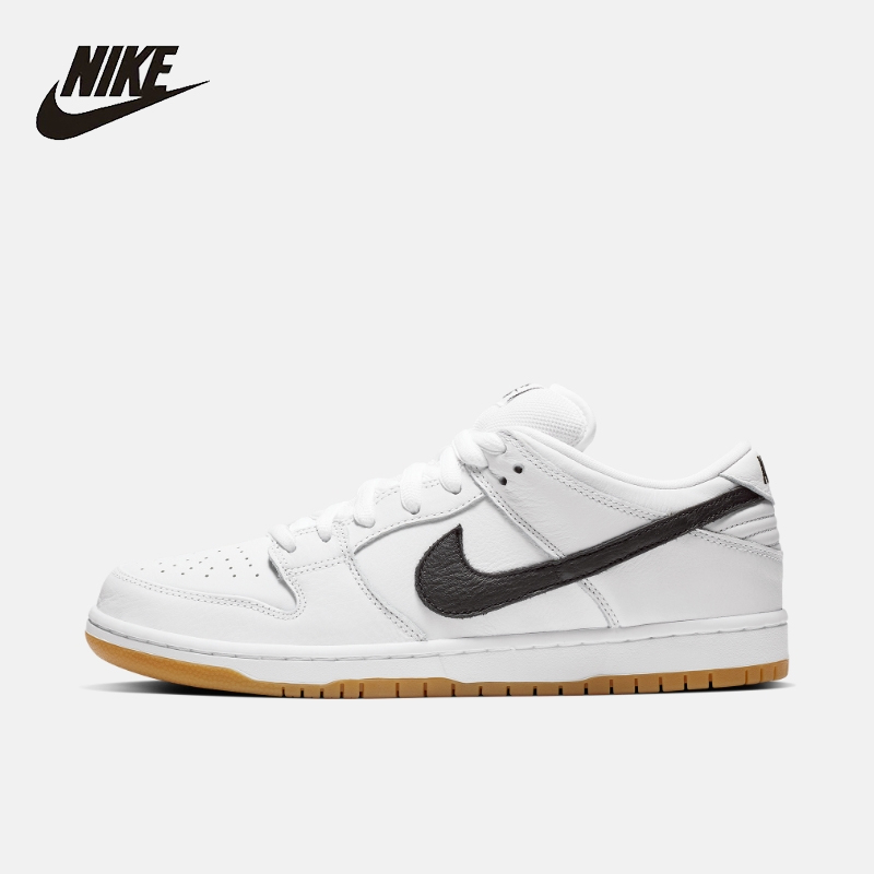 Nike SB Dunk baja Pro ISO hombres Skateboard zapatos casuales antideslizantes zapatillas de luz # CD2563