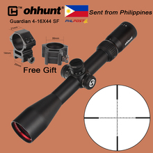 ohhunt Guardian 4-16X44 SF Tactical Optical Sight Wire Reticle 1/2 Half Mil Dot with Side Parallax Adjustment Huting Rifle Scope