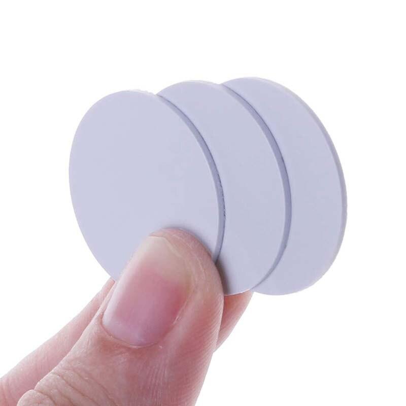 1 pces/10 pces em4305 t5577 proximidade 125khz rfid cartão de cópia regravável reescrever em id 25mm diâmetro redondo moeda pvc disco tag