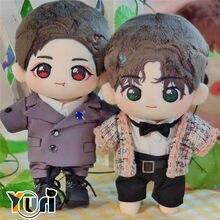 Yuri-Muñeca de peluche de límite de cuerpo, Xiao Zhan Wang Yibo Idol Star BL, juguete relleno con ropa, abanico lindo de Cosplay suave para niños, regalo de Navidad C GG