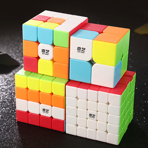 QIYI Warrior Magic Cube 2x2x2 3x3x3 4x4x4 5x5x5 Cubo Magico Profissional Antistress Speed Cube Learn Education Toys for Children