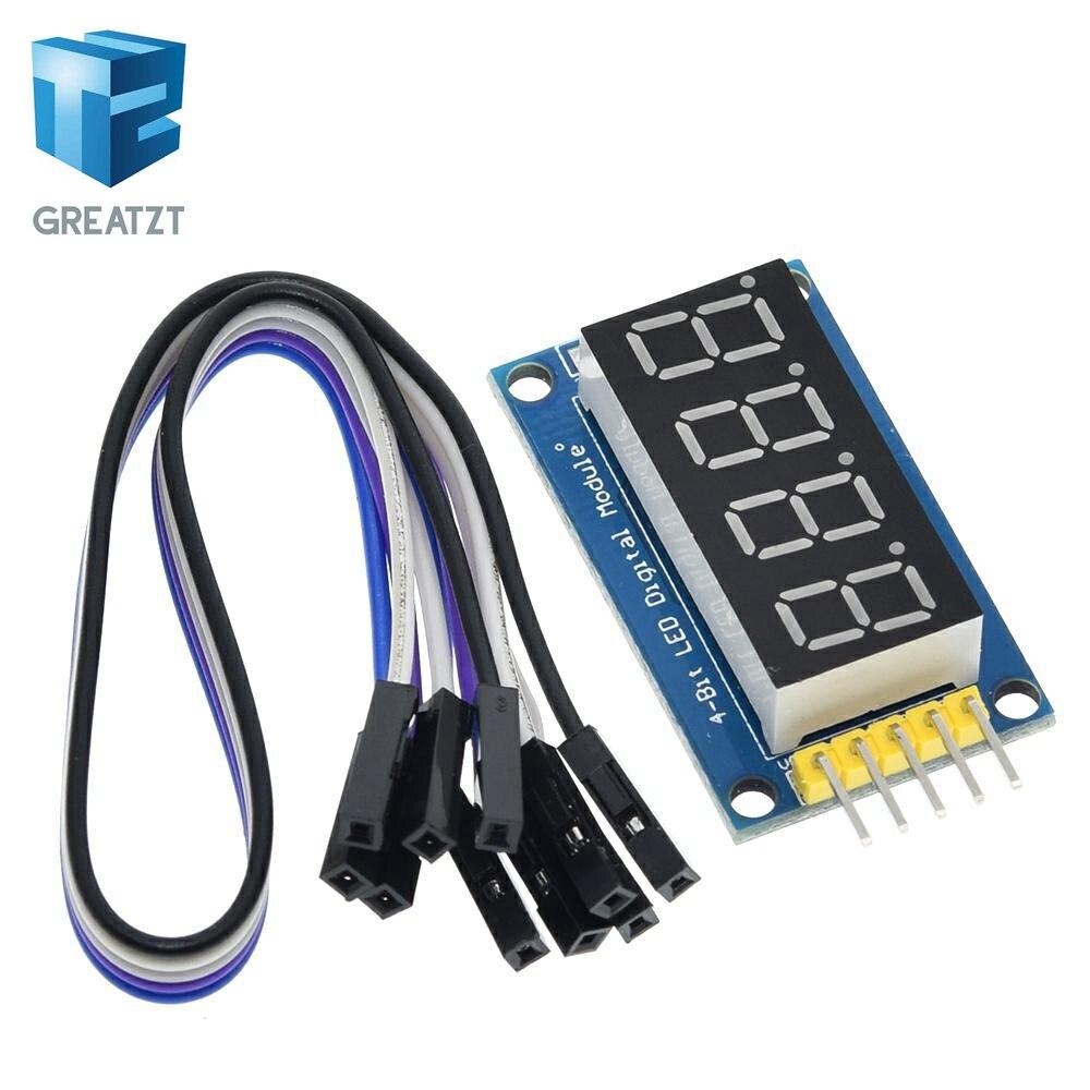 GREATZT 4 Bits Digital Rohr LED Display Modul Vier Serielle für Arduino 595 Fahrer