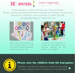 Image 5 - LIHUACHEN 3D Pen Professional RP300A DIY 3D Printing Pen Creative Toy 3D Drawing Pen Gift for Kids Design Drawing Christmas Gift
