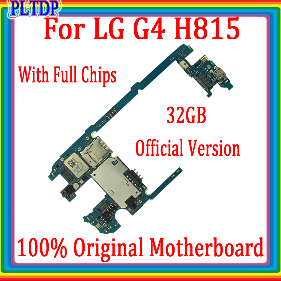 Complete Logic board for <font><b>LG</b></font> G4 <font><b>H815</b></font> <font><b>Motherboard</b></font> with Android System,32GB 100% Original <font><b>Motherboard</b></font> for <font><b>LG</b></font> G4 <font><b>H815</b></font> ,Good Tested image