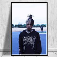 Wall Artwork HD Prints Canvas Painting Modular Pictures XXXtentacion Rapper Nordic Modern Poster For Living Room Home Decoration kitchen poster herb chopper pictures hd prints home wall art nordic style modular painting on canvas fresh for living room decor