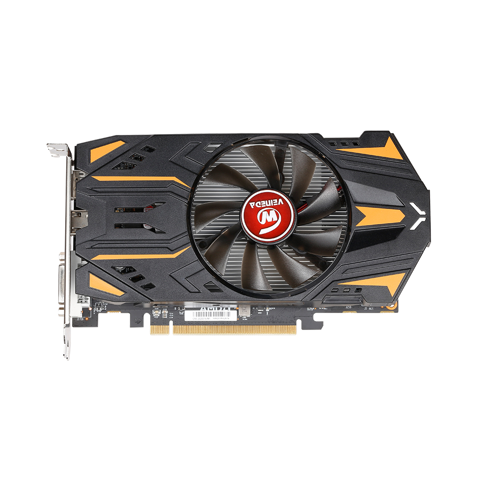 VEINEDA RX550 4GB Graphics Cards GDDR5 128bit GPU For AMD Radeon <font><b>rx</b></font> <font><b>550</b></font> series Video Card Desktop PC Video Gaming image
