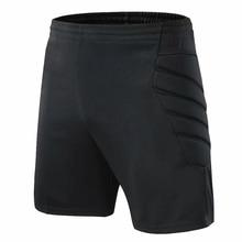 Профессиональные футбольные шорты для вратаря, мужские Защитные шорты, футбольные шорты, тренировочные шорты для вратаря, скейтборд