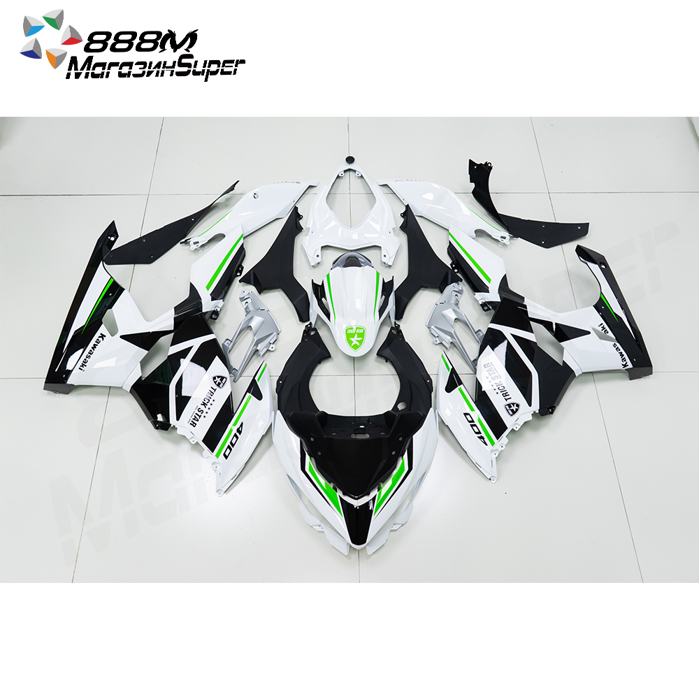 Ninja400 Design Striping Fairings Kit For Kawasaki Ninja400 Ninja 400 2018-2020 18 19 20  Bodywork Fairings