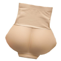 Women Underwear Lingerie Slimming Tummy Control Body Shaper Fake Ass Butt Lifter Briefs Lady Sponge Padded Butt Push Up Panties