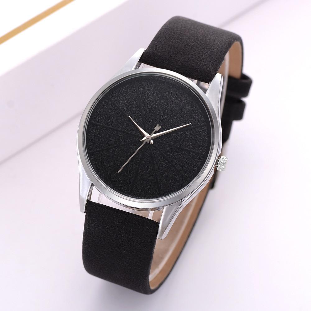 Women Simple Watch Leather Strap Analog Quartz Wrist Watches Fashion Casual Ladies Watch Women Clock Relogio Feminino Relojes