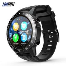 LOKMAT – montre connectée SMA-TK05 pour hommes, écran de 1.3 pouces, Bluetooth 4.0, étanchéité IP67, podomètre, caméra, télécommande, GPS, Message Push