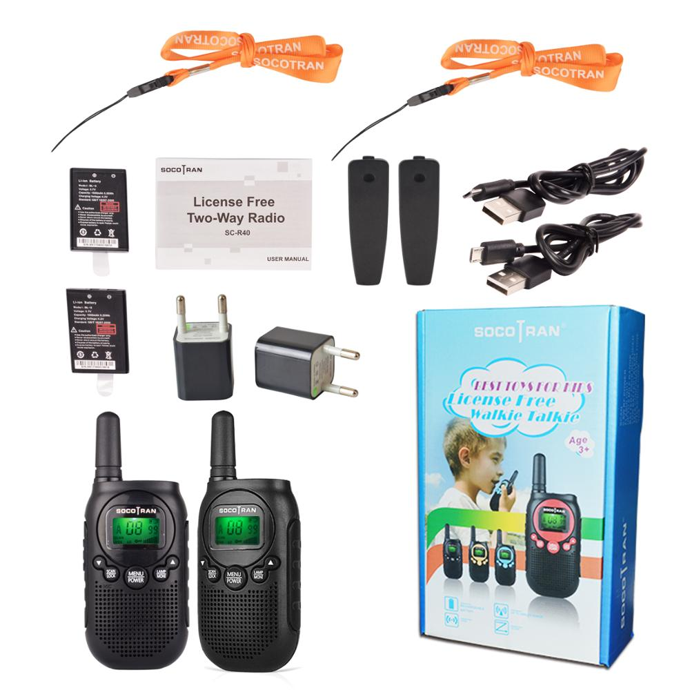Image 5 - PMR446 Kids walkie talke licence free kids two way radio 0.5W 8CH VOX Radio w/ privacy code &rechargeable battery 2 Pair-in Walkie Talkie from Cellphones & Telecommunications