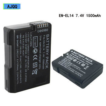 New Original MH-24 7.4V 1500mAh EN-EL14 Battery Enel14 EN EL14 Camera Battery Pack Nikon D5100 P7000 P7100 D5200 D3100 D3200 galvan london комбинезоны без бретелей